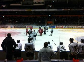 J20-hockey mellan Modo och FBK, även det brukar vara känslofyllt! Foto: Magnus Sjöberg/fbkbloggen