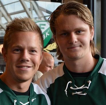 Calle Andersson, här med Joakim Hillding, är definitivt värd en biljett till JVM! Foto: Robin Angle/fbkbloggen
