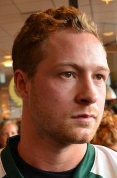 Martin Röymark tilldelades tre stjärnor i matchen mot Adler Mannheim. Foto: Robin Angle/fbkbloggen