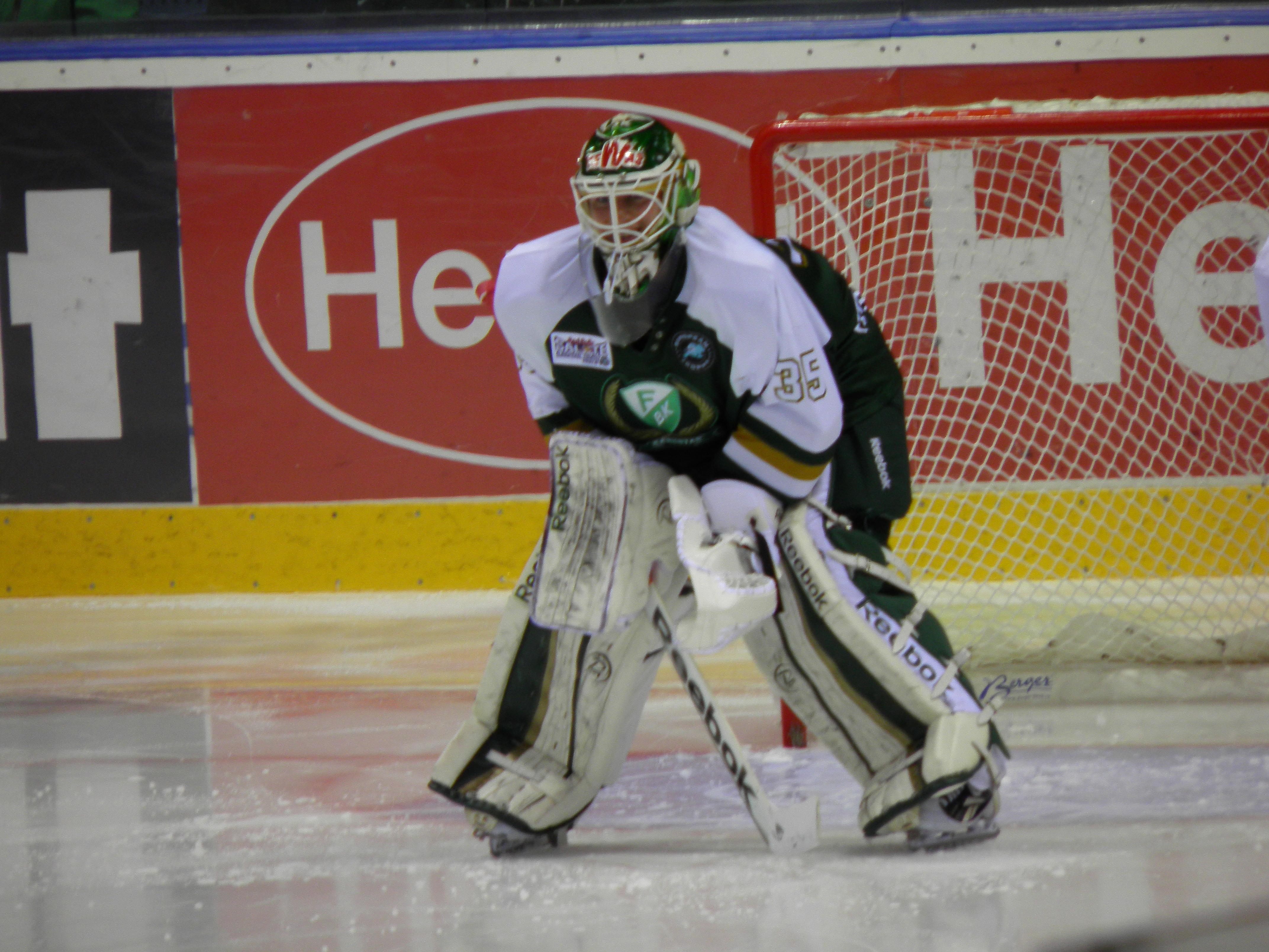 PW var en viktig kugge i den väloljade gröna lagmaskin vi såg i kvartsfinalen  13/12 2012Foto: Marie Angle/fbkbloggen