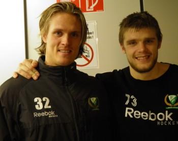 Magnus Nygren, här tillsammans med Anton Grundel, är tillbaka! Foto: Marie Angle/fbkbloggen