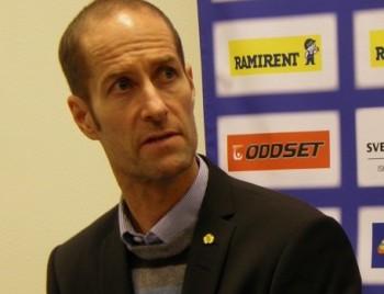 Anders Forsberg, på den tiden det fortfarande begav sig med Skelleftåe.   Foto: Marie Angle/fbkbloggen