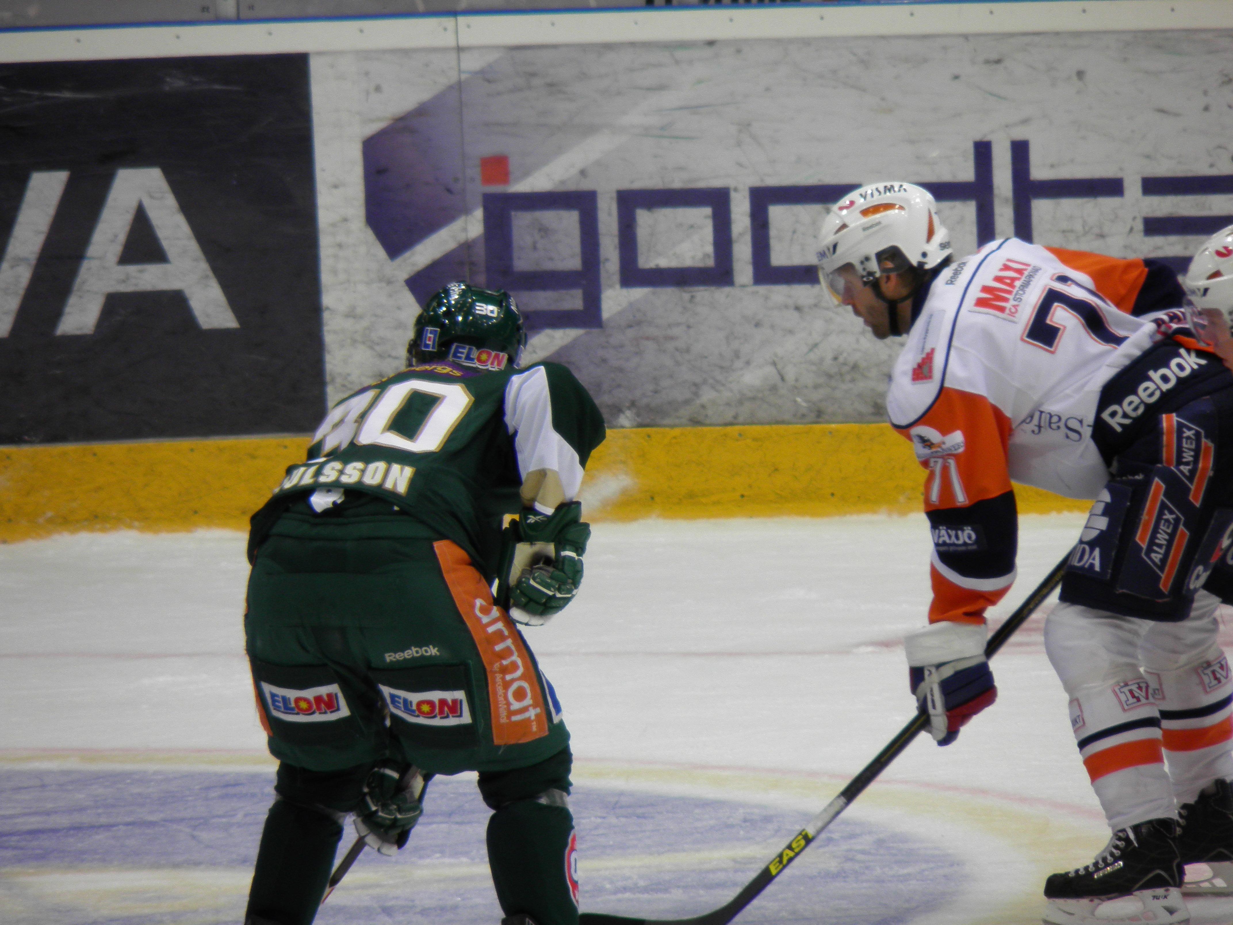 FBK-Växjö 8/1 2013 Foto: Marie Angle/fbkbloggen