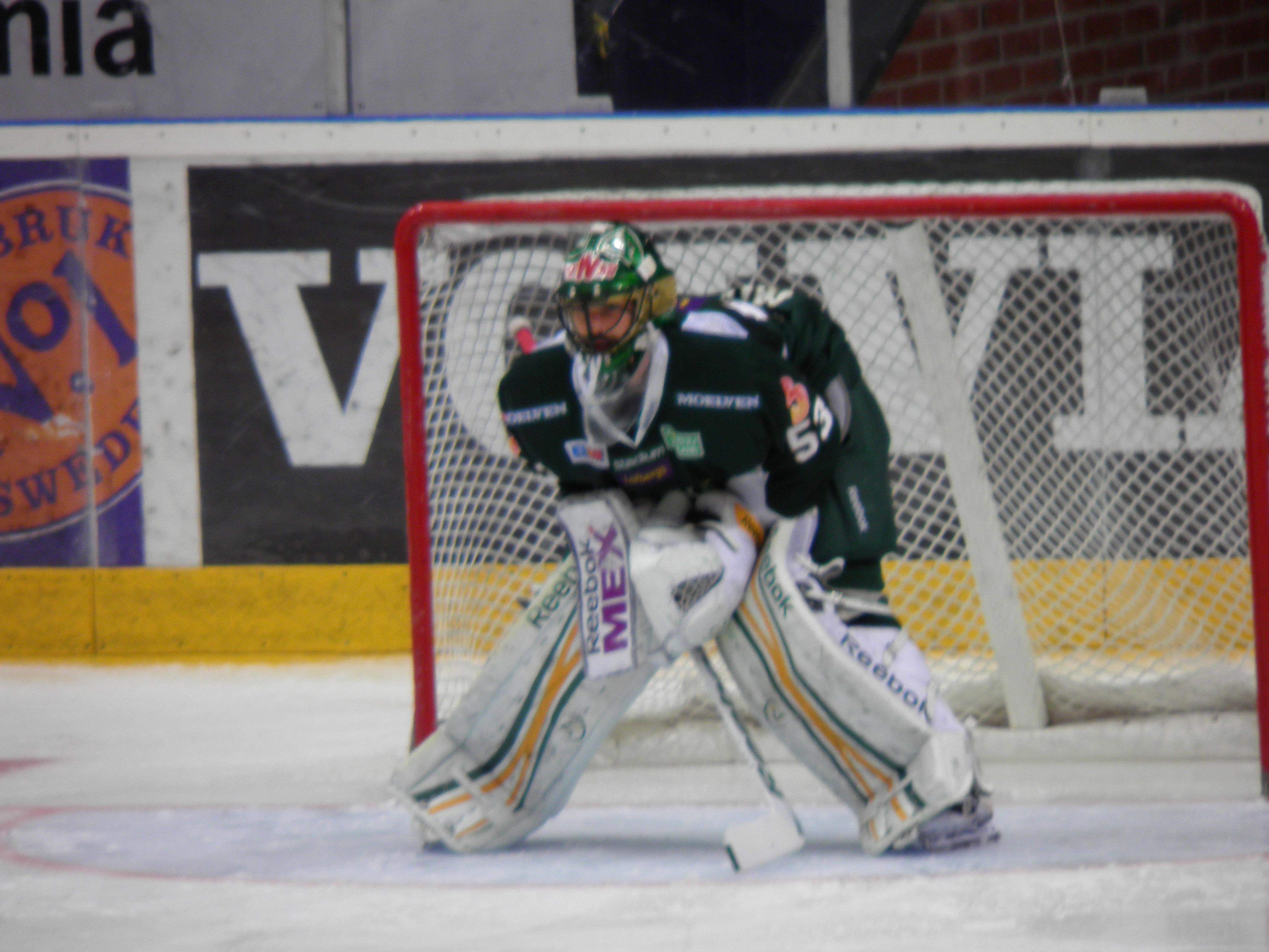 Salák är den enda som får beröm av Carlsson efter Växjömatchen. Foto: Marie Angle/fbkbloggen