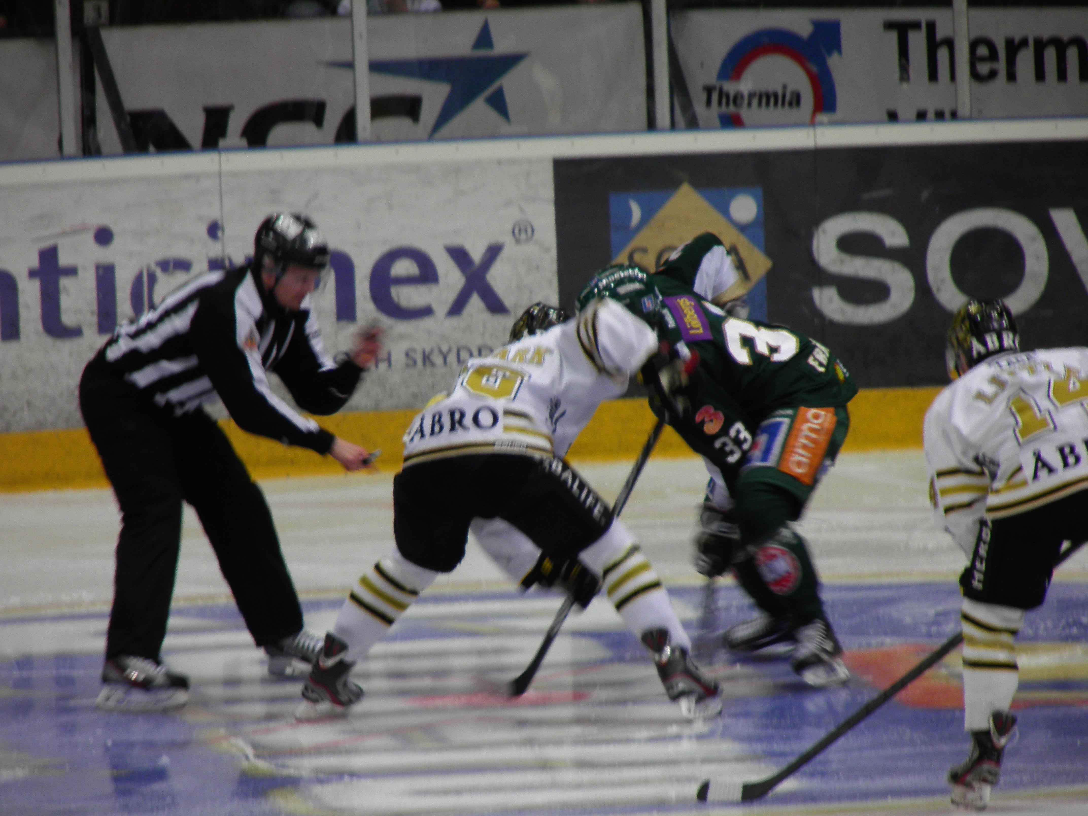 Färjestad - AIK 12/1 2013 Foto: Marie Angle/fbkbloggen
