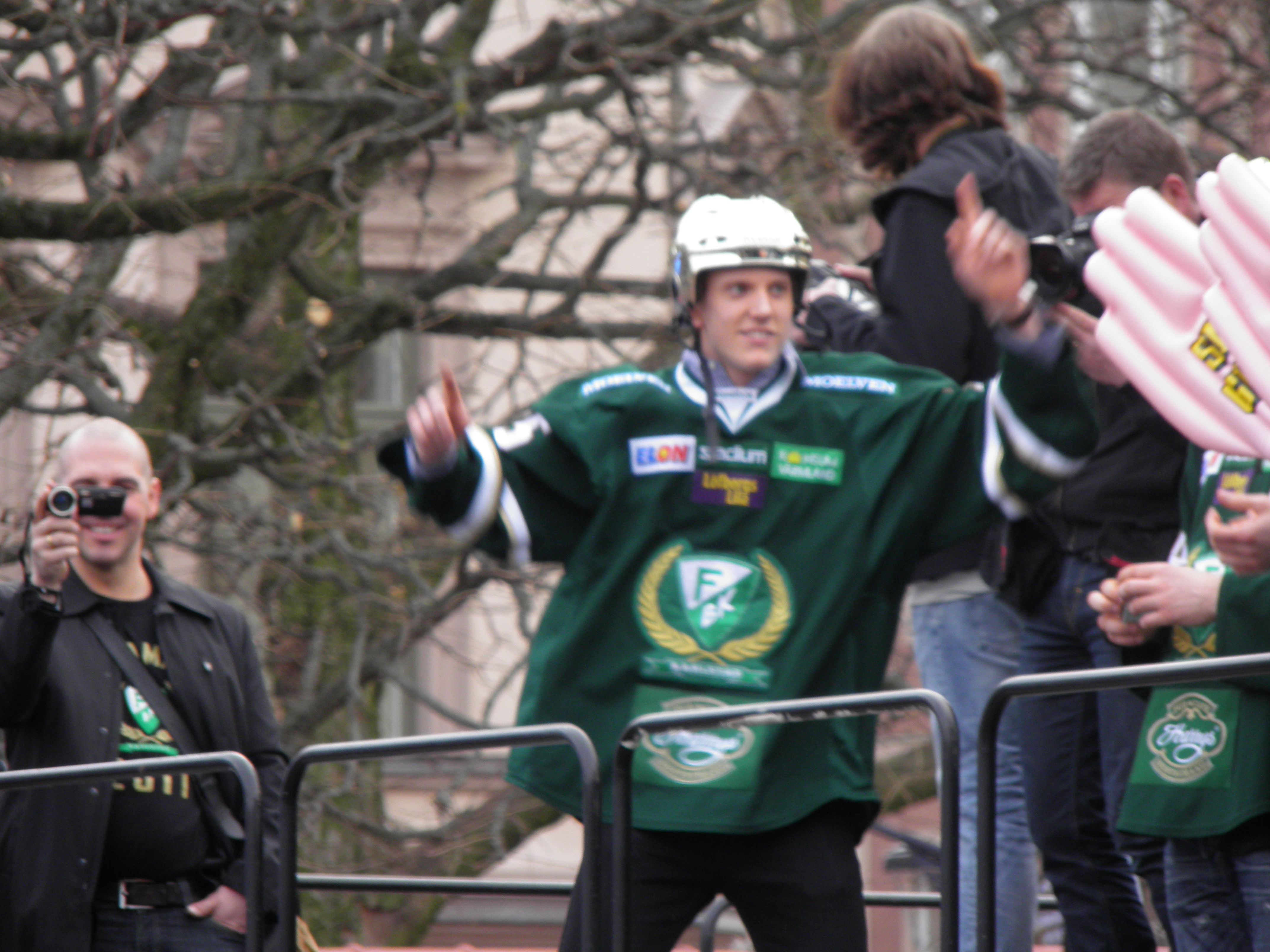 SM-guld, JVM-guld och nu NHL-debut vid 19 års ålder - Jonas Brodin kan bli hur stor som helst! Foto: Marie Angle/fbkbloggen