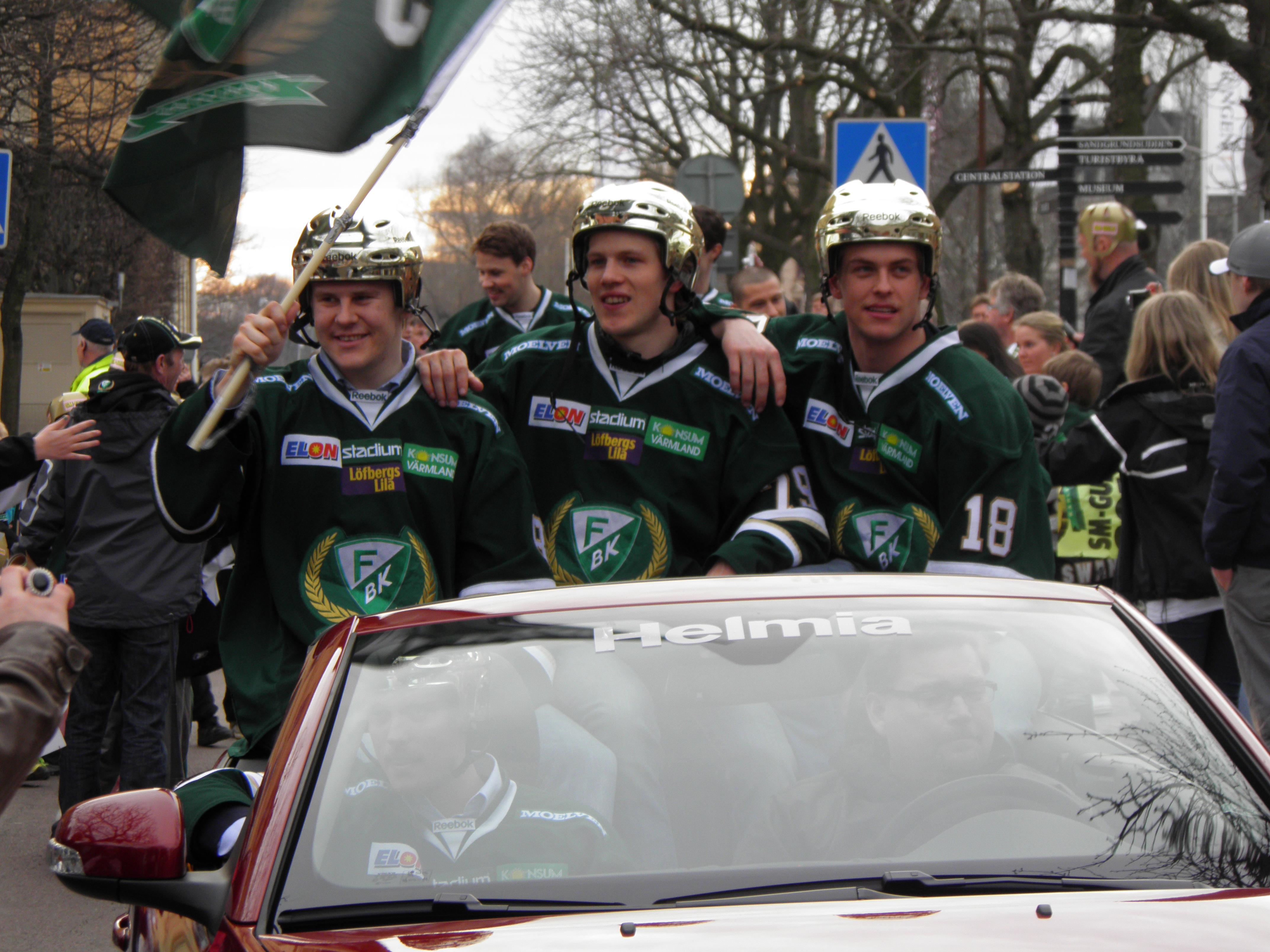 Det drar ihop sig till slutspel - dags att hämta hem guldet till Karlstad igen? Foto: Marie Angle/fbkbloggen