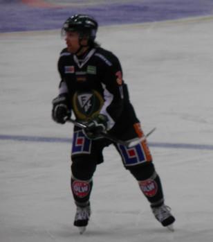 Ari Vallin spelade strax över 10 minuter i debuten för Färjestad 12/2 2013 Foto:Marie Angle/fbkbloggen