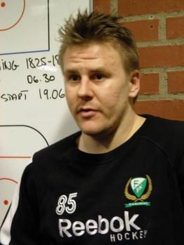 Micke Johansson stod för ett riktigt klassmål, rätt i krysset, i semifinal 3. Foto: Marie Angle/fbkbloggen