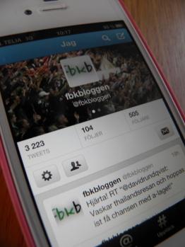 Twitter - framtidens informationskanal (dock med vissa barnsjukdomar) Foto: Marie Angle/fbkbloggen
