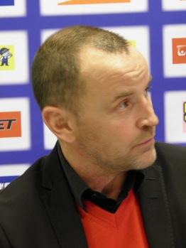 Bulan Berglund berömde FBK på presskonferensen efter matchen. Foto: Marie Angle/fbkbloggen