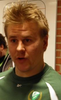 Micke Johansson har äntligen fått positiva svar kring den krånglande höften. Men får vi se honom i FBK nästa säsong? Foto: Marie Angle/fbkbloggen