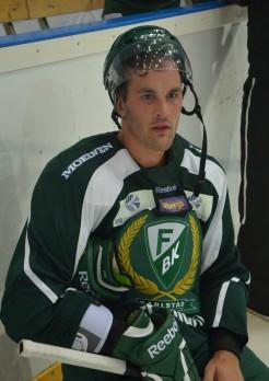 Niklas Arell, nyförvärvet från BIK Karlskoga. Foto: Robin Angle/fbkbloggen