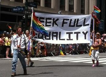 Det är inte bara kvinnor som hamnar på sidan inom idrotten. HBT-frågan är också viktig. Foto: Marie Angle/fbkbloggen