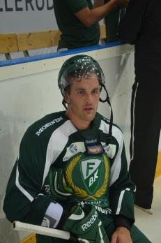 Niklas Arell, nyförvärvet från BIK Karlskoga, fick beröm av tränare Carlsson. Foto: Robin Angle/fbkbloggen