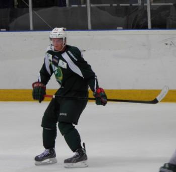 Jonas Brodin deltog i onsdagseftermiddagens träning. Foto: Marie Angle/fbkbloggen