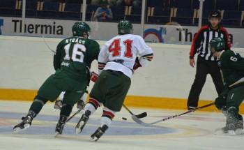 Joakim Nygård ser pigg ut. Två frilägen i kvällens match, varav det sista resulterade i straffen som ledde till 1-2. Foto: Robin Angle/fbkbloggen