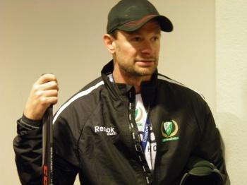 Radek Hamr är mycket nöjd med harmonin i laget så här långt! Foto: Joakim Angle/fbkbloggen