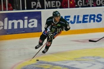 Åberg in action Foto: Robin Angle/fbkbloggen