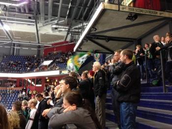 Glesare i leden! Publiksiffran mot Brynäs i tisdags var inte upplyftande! Foto: Marie Angle/fbkbloggen