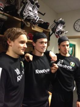 Färjestads och svensk hockeys framtid - unga spelare hämtade ur den egna verksamheten. Foto: Marie Angle/fbkbloggen