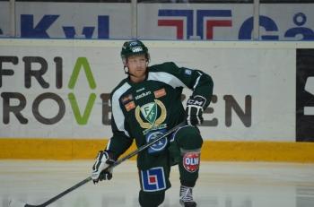 Martin Röymark spelade inte i tisdagens match mot Leksand. Foto: Robin Angle/fbkbloggen