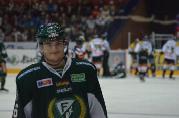 Byström trivs i A-laget! Foto: Robin Angle/fbkbloggen