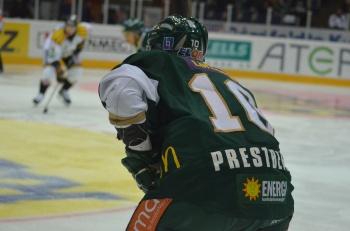 Prestberg har gjort sitt i FBK. Rätt eller fel, åsikterna bland fansen går isär. Jag anser att det var ett korrekt beslut! Foto: Robin Angle/fbkbloggen