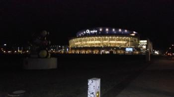 02 World, platsen för kvällens viktiga match! Foto: Marie Angle/fbkbloggen