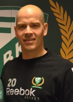 Basse gjorde efterlängtad comeback i kvällens match! Foto: Robin Angle/fbkbloggen