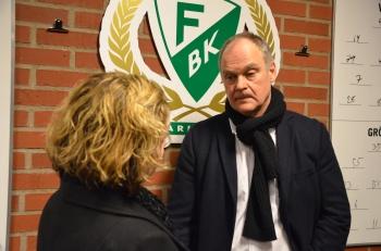 Anders Steen bekräftar att FBK och Milan Gulas har börjat diskutera inför nästa säsong. Foto: Robin Angle/fbkbloggen