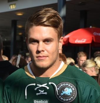 Pontus Åberg gör 3-2 genom ett snyggt straffmål. Mer om den och Pontus i en separat intervju under onsdagen. Foto: Robin Angle/fbkbloggen