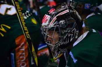 Pekka Tuokkola fick ingen lätt resa i kvällens match! Foto: Robin Angle/fbkbloggen