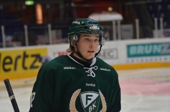 Wilhelm Westlund har vi sett en del i A-laget, men är liksom Olofsson, också mycket intressant att se i sin mer framträdande roll i J20. Foto: Robin Angle/fbkbloggen