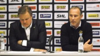 Presskonferensen efter AIK-matchen 25/2 2014 Foto: Marie Angle/fbkbloggen