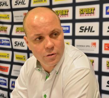 Clas Eriksson var nöjd med laget och dess prestation, även om han erkände att de hade hoppats nå fjärdeplatsen. Foto: Robin Angle/fbkbloggen