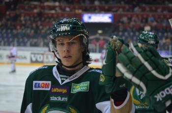 Så välförtjänt! Viktigt frilägesmål för suveräne Joakim Nygård som gör allt så rätt men som inte har fått poängen med sig... 1+1 i dagens match! Foto: Robin Angle/fbkbloggen