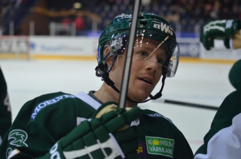 Joakim Hillding gjorde två mål, båda i PP, i kvällens match. Foto: Robin Angle/fbkbloggen