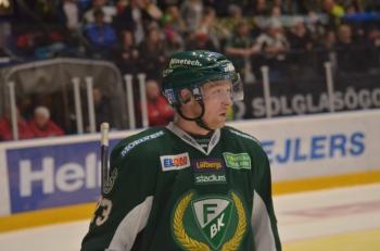#23, Martin Röymark stannar gärna kvar i Färjestad. Foto: Robin Angle/fbkbloggen